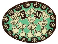 1950s Fortnum & Mason's Easter catalogs, illustration by Edward Bawden.