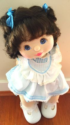 Bru double topknot my child doll