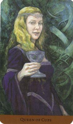 Queen of Cups - Tarot of the Hidden Realm