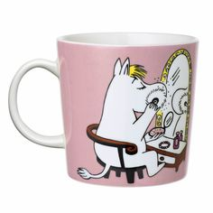 The Snorkmaiden is one of the lovable characters of Moomin Valley, created by the author Tove Jansson. The Arabia artist Tove Slotte-Elevant has desig. Moomin Books, Moomin Mugs, Moomin Shop, Tove Jansson, Novelty Mugs, The Little Prince, Cute Mugs, Marimekko, Scandinavian Design