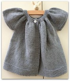 patron tricot gratuit robe fille