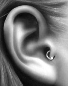 Tragus Piercing - had this, lost it while I was in the hospital, I want it again