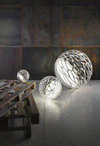 Buy Studio Italia Kelly Mini Sphere Standing Lamp from iLite. Luxury Home Lighting Specialist Luminaire Design, Lamp Design, Design Table, Chandeliers, Desk Lamp, Table Lamp, Italia Design, 3d Laser, Glass Diffuser