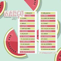 Lominha embarca para o Brasil amanhã (!!!) mas finalmente conseguiu publicar o #thefabulousproject de março! No sernaiotto.com tem dicas para os temas e explicação sobre como participar, viu? Have fun!