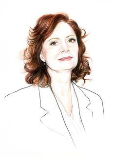 Do you like my tight sweater ? - Caroline Andrieu: Susan Sarandon for Variety