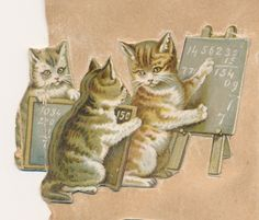Prints and Photographs, Special Collections, Library of Virginia. cat pet Victorian scrapbook die cut vintage clip art free for personal use Pen Pal Letters, Old Cards, Little Kittens, Vintage Cat, Old Paper, Animal Photography, Paper Dolls, Clip Art, Victorian