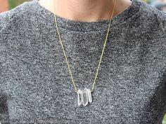 DIY: crystal necklace