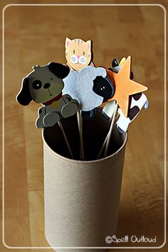 Nursery Rhyme Stick Puppets