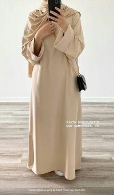 Modest Fashion Hijab, Abaya Fashion, Modest Outfits, Fashion Outfits, Islamic Fashion, Muslim Fashion, Hijab Fashionista, Hijab Fashion Inspiration, Mode Hijab