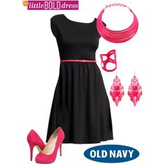 "I like this LBD!!! - ""The Little Bold Dress"" by theheartsclubqueen on Polyvore"