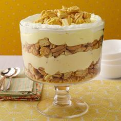 Lemon Delight Trifle.  VERDICT:  Everyone LOVED this and raved about it.  Very quick and easy to put together.