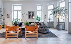 Het perfecte familieappartement in Stockholm - Roomed | roomed.nl #swedish #scandinavian #home #appartement #lottaagoton #designer #interiordesign #leather #interior #furniture