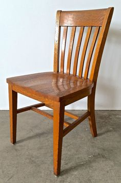 These oak school/office chairs are built hell for stout and the style is a classic.  Could always get more.
