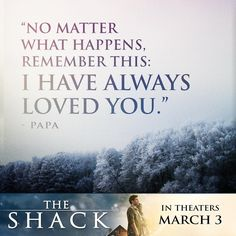 13 EPIC The Shack Movie Quotes to Know - MyTeenGuide