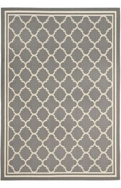 Safavieh Courtyard Trellis CY6918 Anthracite Rug. Rugs USA Summer Sale up to 80% Off! Area rug, carpet, design, style, home decor, interior design, pattern, trend, statement, summer, cozy, sale, discount, free shipping.