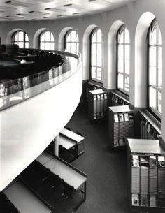 Zürich, ETH Zürich, Hauptgebäude (HG), Hauptbibliothek, Lesesaal. Ans_01405 Stairs, Home Decor, Architecture, Stairway, Decoration Home, Staircases, Room Decor, Ladders, Interior Decorating