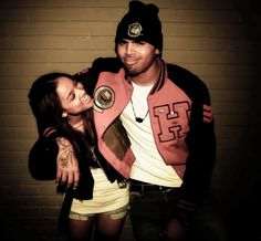 Chris Brown  Karrueche Tran-I'm more of a Rihanna girl. But they were cute together.