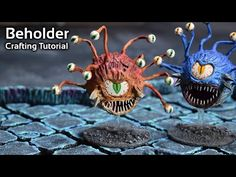(6) How to Craft a Beholder from a Ping Pong Ball for Dungeons and Dragons - YouTube