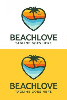 For Creative Market Logos Features of Logo Template: - Scalable Vector Files - Everything is editable - Everything is re-sizable - Easy to edit color / Corporate Identity, Visual Identity, Brand Identity, Logo Design Template, Logo Templates, Graphic Design Inspiration, Design Ideas, Creative Hub, Love Logo