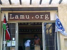 Lamu.org Waterfront Office in Shela Village, Lamu Island