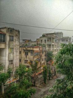 #Pune #nature #rains #clouds #hdr #urban #city