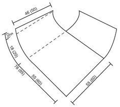 Storlek: S/M (L/XL) Garnåtgång: DROPS Silke-Tweed från Garnstudio 400 gr i båda stl, nr 19, gråvit och använd: DROPS Glitter från Garnstudio 2 spolar i båda stl, nr 02, silver DROPS St nr 4.
