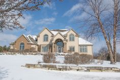 Exceptional 5 bedroom, 4.5 half bath, open concept home. The grand entry guides you into the voluminous two story great room with a beautiful wall of windows, fireplace and built-in cabinetry. The chef's kitchen offers a Thermidor dual oven gas range, built-in refrigerator and large granite island. The huge main level master bedroom retreat captures beautiful views of countryside. Spa-like master bathroom features a jetted tub and an incredible shower.  #ShorewestRealtors #LuxuryListing…