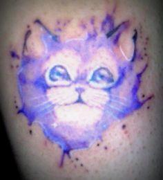 gatito en watercolor 1
