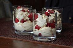 Cranachan - Scottish dessert w Whiskey, honey and raspberries by Jase Mueller, via Flickr