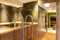 Le bain froid, hammam et sauna au Spa du Jiva Hill Resort, hôtel 5* Relais Châteaux, à 15 minutes de Genève #sauna #hammam #spa #bienetre #hoteldeluxe