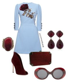 """Red Rose"" by k1974johnson1117 ❤ liked on Polyvore"