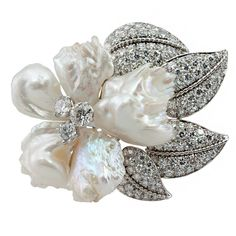 1stdibs - RUSER Freshwater Pearl Brooch explore items from 1,700  global dealers at 1stdibs.com