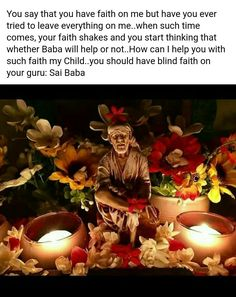 When I was tensed about my classes and after effects of it Sai Baba Pictures, God Pictures, Indian Sign Language, Shirdi Sai Baba Wallpapers, Sai Baba Hd Wallpaper, Saints Of India, Sai Baba Quotes, Swami Samarth, Sathya Sai Baba