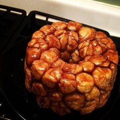 Cinnamon Pull-Apart Bread from Scratch from Food.com:   Similar to Monkey bread, but a little different.  I have seen so many that utilize pre-made things. I like homemade so here is my take.  It looks long, but is actually really simple and worth it in the end - simply delicious.