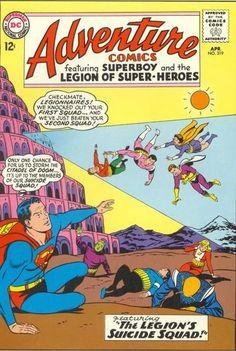 Adventure Comics Legion of Super Heroes 319