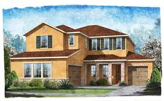 Community: Greenleaf Village -- Builder: Standard Pacific -- Sq. Ft: 3,294 -- 4 Bed / 3.5 Bath / BL -- Lot: 523 -- Move-In Ready: 10/2014 -- Price: $441,405