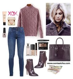 Ootd by soniaaicha on Polyvore featuring polyvore, fashion, style, s.Oliver, Roberto Botella, Yves Saint Laurent, Guerlain, Stila, NARS Cosmetics, NYX, Calvin Klein, Victoria's Secret, GALA and clothing