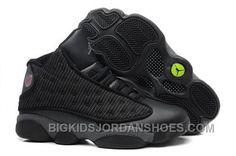 655818b95e41c4 Denmark Nike Air Jordan Xiii 13 Retro Mens Shoes All Black Special 2016  New