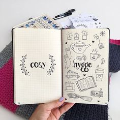 Doodling in my Bullet Journal. I'm a little in love with Hygge (the Danish way to live well).