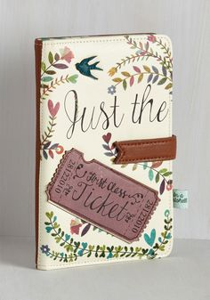 Girl Meets Voyage Travel Wallet. Its a love story you never get tired of telling. #multi #modcloth