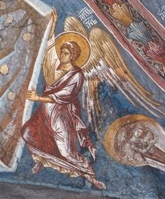 Archangels, Mural Painting, Ancient, Painting, Art, Angel, Fresco, Byzantine Icons, Art And Architecture