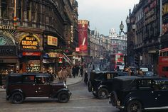 1940s London in Colour