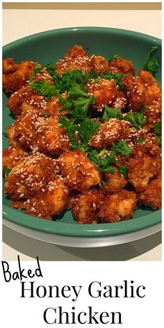 No need to order Chinese takeout for lunch today! Now you can make your own healthier version of the class honey garlic chicken.
