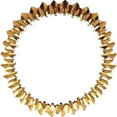 Georg Jensen 18KT Gold Necklace No 1033 By Tuk Fischer Very Rare