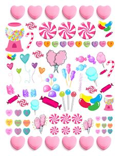 @planner.PICKETT: Candyland Valentines Day freebie
