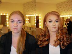 Mira La Magia Que Hace El Maquillaje En La Trasformación De Estas 17 Mujeres Ordinarias A Súper Modelos.