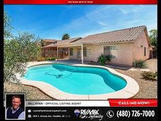 Chandler Real Estate - Clemente Ranch - 1352 W Sparrow Dr - The Ryan Whyte Team at REMAX 480-726-7000 $252,500!