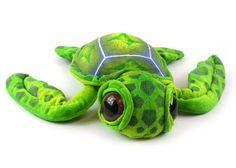 Green sea turtle plush