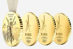 Philippe Starck has designed shareable Olympic medals