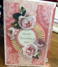 Anna Griffin Valentine card